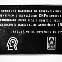 Photo taken at Laboratório Nacional De Astrofisica LNA by Peter J. on 10/26/2017