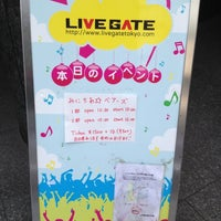 Photo taken at LIVE GATE TOKYO / ライブゲート トウキョウ by sumipan on 10/6/2012