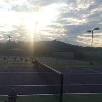 Photo taken at Courtyard Tennis Center by Scott F. on 9/13/2015