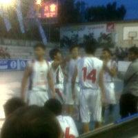 Photo taken at Gelora senapelan basket by lucia m. on 4/24/2013
