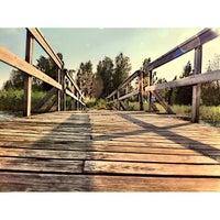 Photo taken at Rossinpuiston uimaranta by Krismarkova on 7/4/2013