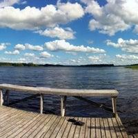Photo taken at Rossinpuiston uimaranta by Krismarkova on 7/2/2013