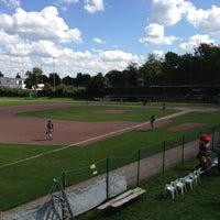 Das Foto wurde bei Baseballpark Langenhorst von Steven am 8/24/2013 aufgenommen