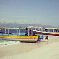 Photo taken at Gili Trawangan by Ivona H. on 9/28/2013