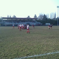 Photo taken at stade aime dufour by Rémi J. on 3/3/2013
