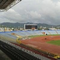 Photo taken at Hasely Crawford Stadium by (ha)SanMan _. on 10/21/2013