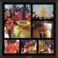 Photo taken at Wat Sanam Chai Rat Sattha Tham by Prithong B. on 1/31/2014