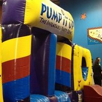 Photo taken at Pump It Up by Marisa R. on 2/16/2014