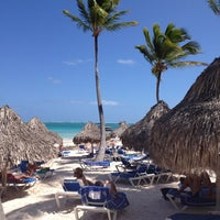 Photo taken at Meliá Caribe Tropical All Inclusive Hotel by Anton V. on 2/12/2013