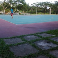 Photo taken at K9 Basketball Court by Benny on 11/20/2012
