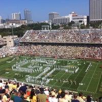 Photo taken at Bobby Dodd Stadium by J.R. R. on 9/22/2012
