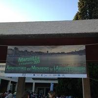 Photo taken at Aix-Marseille Université – Campus de Saint-Charles by Morita M. on 9/2/2013