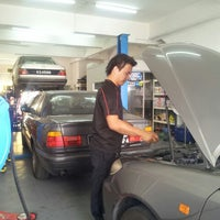 Photo taken at Sheng Shun Fa Automobile by Colin F. on 7/12/2013