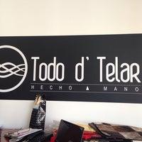 Photo taken at Todo D Telar by David P. on 10/3/2013