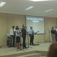 Photo taken at Igreja Verbo da Vida by Léo O. on 6/9/2013