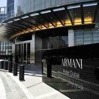 Photo taken at Armani Hotel Dubai by Brijendra C. on 12/27/2012