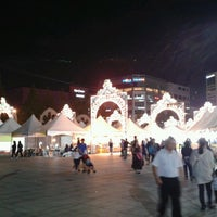 Photo taken at 사우광장 by edmonde C. on 9/26/2012