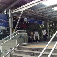 Photo taken at MRT Chatuchak Park (CHA) by Opapunn S. on 10/17/2012