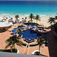 Photo taken at The Ritz-Carlton, Cancun by Eduardo C. on 10/9/2012