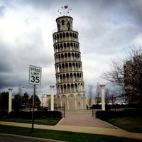 Photo taken at Leaning Tower Of Niles by Aaron L. on 4/13/2013