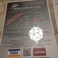 Photo taken at Aqua Service by Eugene C. on 1/12/2014