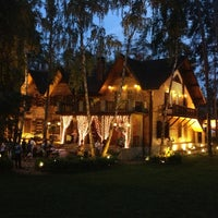 Photo taken at Ресторанно-готельний комплекс «Чумацький Шлях» by Alexey P. on 5/17/2013