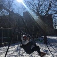 Photo taken at William Sheridan Playground by Assiria Carolina M. on 1/28/2016