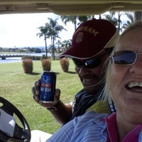 Photo taken at Palm Meadows Golf Course by Sue T. on 8/15/2015