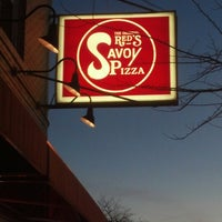 Photo taken at Red's Savoy Pizza by Shannon H. on 11/21/2012
