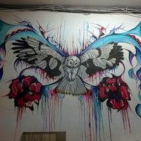 Photo taken at Art hostel Squat by Dmitry D. on 10/6/2014