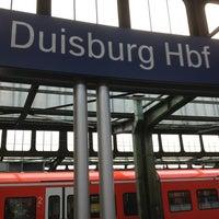 รูปภาพถ่ายที่ Duisburg Hauptbahnhof โดย Jörg G. เมื่อ 3/21/2013