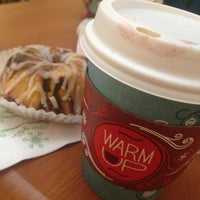 Photo taken at Caribou Coffee by Hind on 12/9/2012
