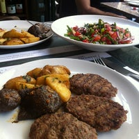 Photo taken at Rumeli Cafe by Mine on 6/26/2013