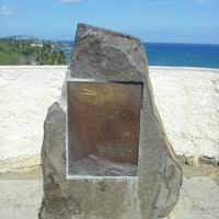 Photo taken at Amelia Earhart marker at Diamond Head Lookout by Andrea H. on 4/26/2013