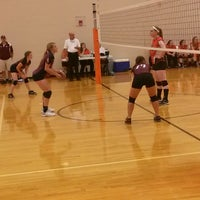 Photo taken at Volleyball Gym by Becky R. on 9/23/2014