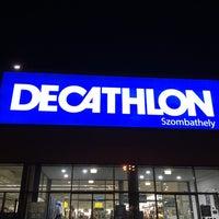 Photo taken at Decathlon Szombathely by Judith on 12/27/2016