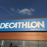 Photo taken at Decathlon Szombathely by Judith on 9/10/2016