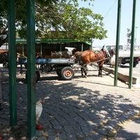 Photo taken at At Arabaları Durağı by Gizem A. on 7/8/2013
