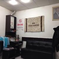 Photo taken at Nur Erkek Kuaförü by Tuna E. on 2/9/2014