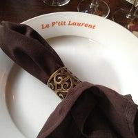 Photo taken at Le P'tit Laurent by Diane T. on 5/4/2013