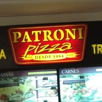 Photo taken at Patroni Pizza by Luiz V. on 1/26/2013