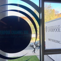 Photo taken at ULMS - University of Liverpool Management School by Pablo H. on 11/9/2017