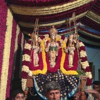 Photo taken at Srinivasa Devasthana by Bhavana S. on 12/23/2012