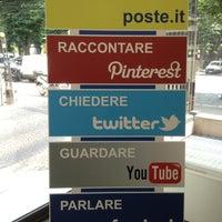 Photo taken at Poste Italiane by Amrit on 7/18/2013