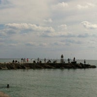 Photo taken at Bal Harbour Jetty by Morgan on 11/4/2012