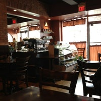 Photo taken at Pompilios Pizzeria and Restaurant by Hazel on 2/22/2013