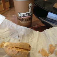 Photo taken at Bruegger's Bagel Bakery by Lily on 11/14/2012