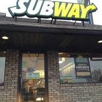 Photo taken at Subway by Karen J. on 1/15/2013