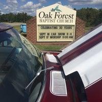 9/16/2017 tarihinde Ruby C.ziyaretçi tarafından Oak Forest Baptist Church'de çekilen fotoğraf