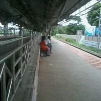 Photo taken at Tiruslam Railway Station by Balasubramani M. on 7/10/2013